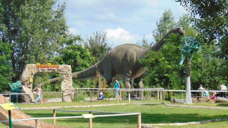 Dinopark nabízí spoustu skvělých atrakcí