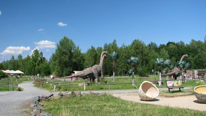 Hlavní část dinoparku
