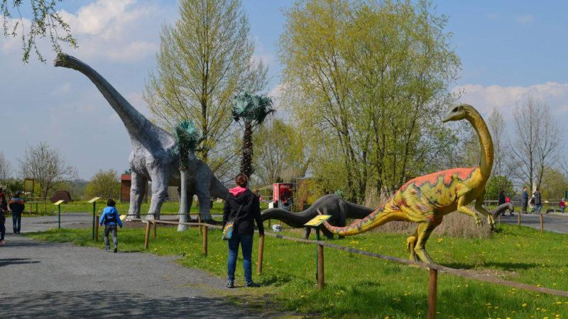 Děti budou z Dinoparku nadšené!