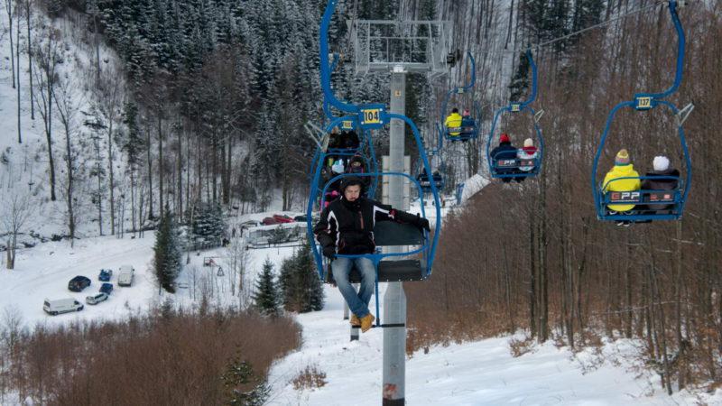 V zimě žijí Pustevny lyžováním