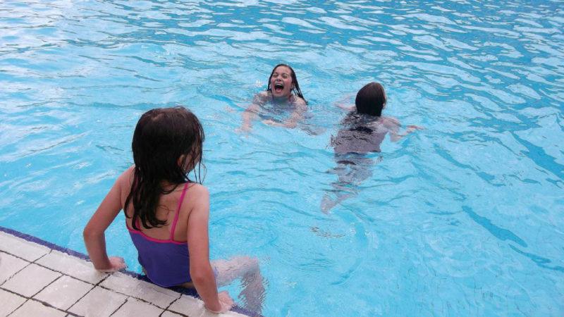 Bazén Podolí má venkovní i vnitřní část