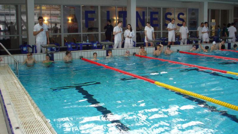 V bazénu Podolí se koná i mnoho závodů