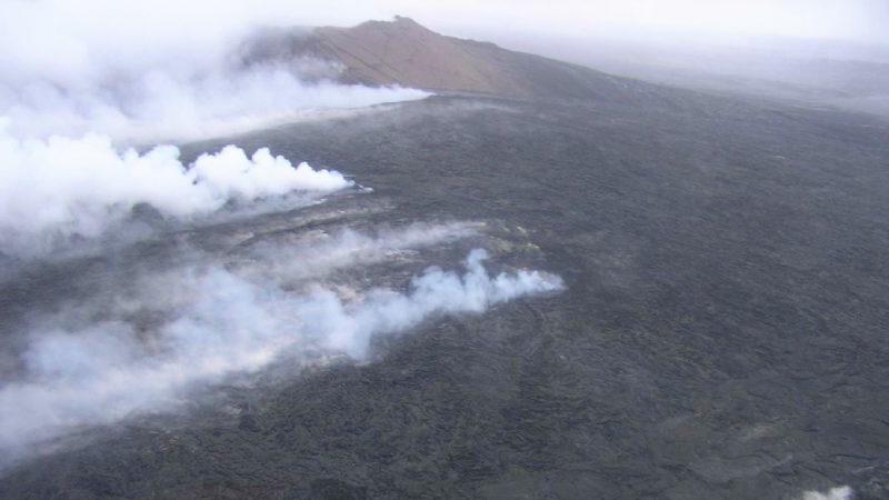 Unikáítní sopka Kilauea na Havaji