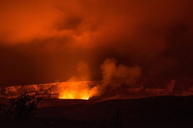 Sopka Kilauea na Havaji – Informace, erupce, live webkamera online
