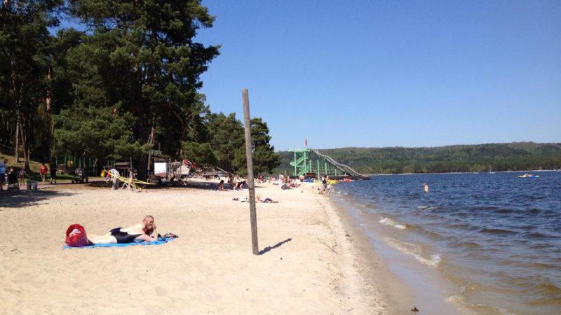 Máchovo jezero je oblíbeným místem relaxace