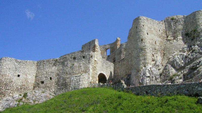 Spišský hrad je opravdu majestátný a krásný