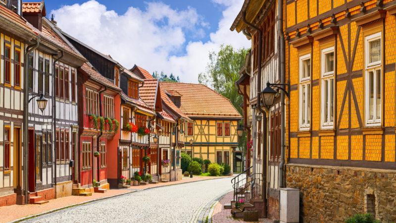 Typická německá vesnice