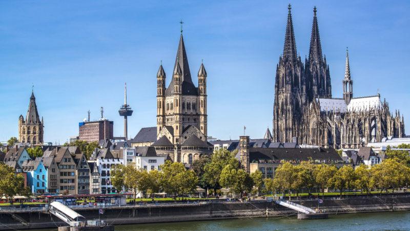 Kolín nad Rýnem je finančním centrem země