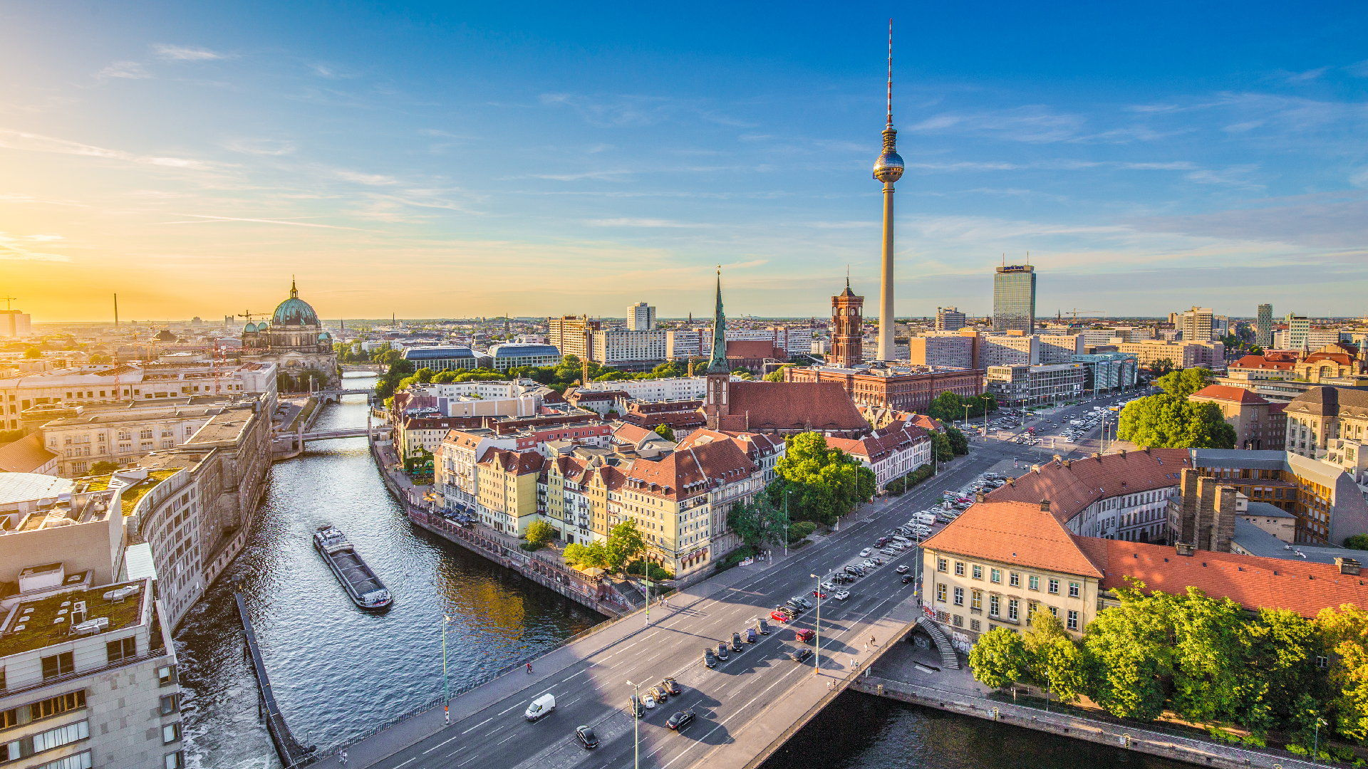 Berlín - hlavní město Německa