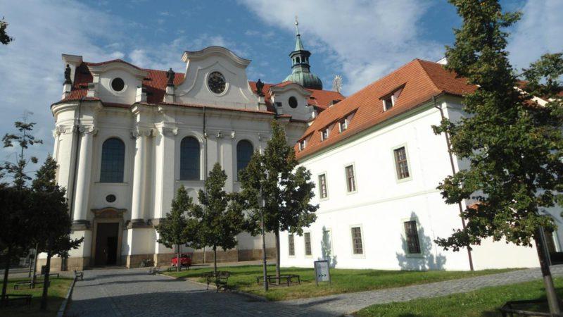 Bazilika sv. Markéty je dominantou celého kláštera