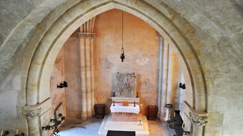 Interiér hradu Hardegg