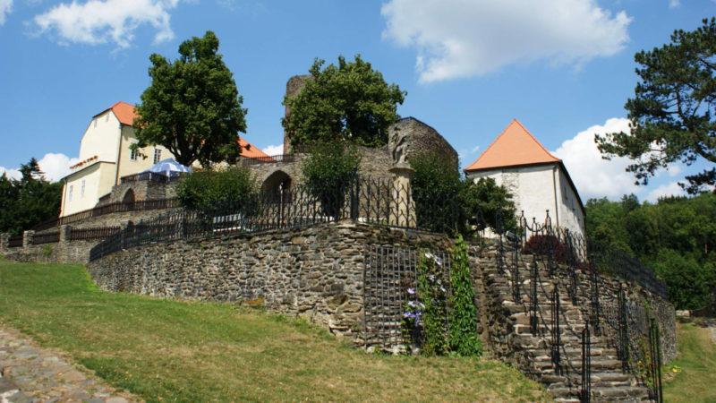 Svojanov je opravdu krásný gotický hrad