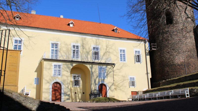 Renesanční palác hradu Svojanov.