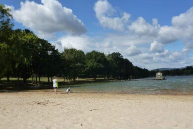 Kamencové jezero Chomutov – Kemp, ubytování, webkamera, vstupné