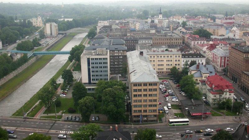 Výhled z věže magistrátu Ostrava