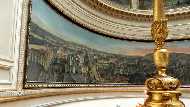 Budova Muzeum hl. m. Prahy Florenc je sama o sobě krásná.