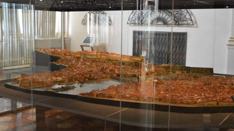 Slavný Langweilův model Prahy