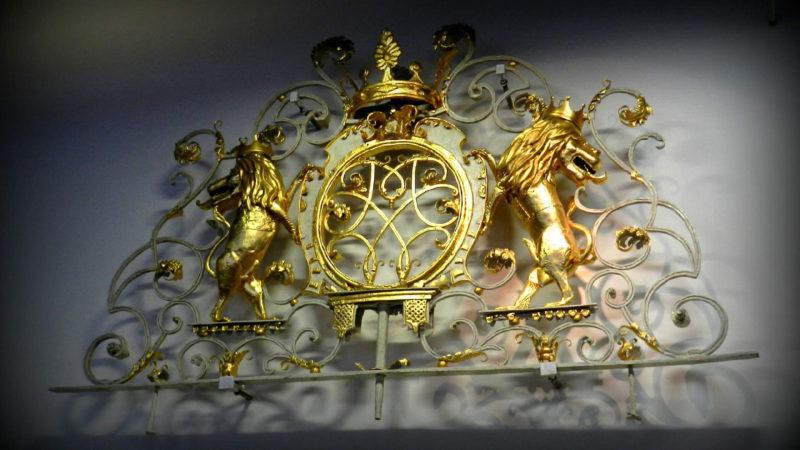 Detail jednoho z exponátů