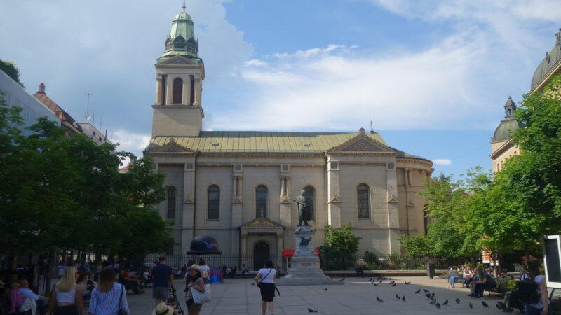 Záhřeb je hlavní město Chorvatska