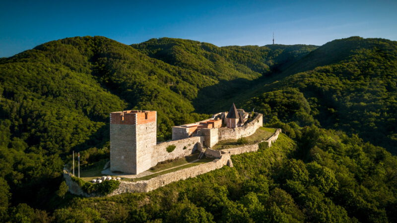 Okolí Záhřebu - pohoří Medvedica