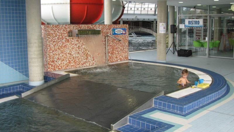 Dětský bazén v aqua Olomouc