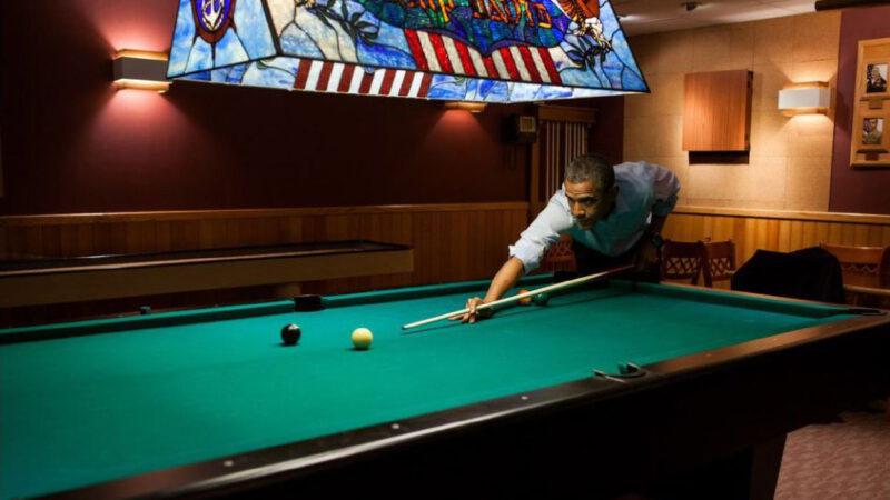 Barack Obama relaxuje v Camp Davidu