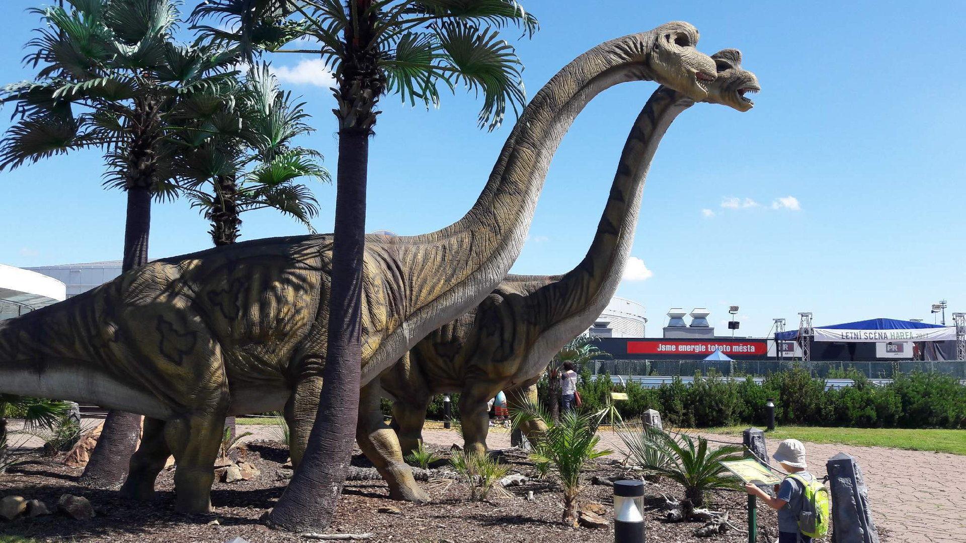 Dinopark Praha Harfa – Vstupné, otevírací doba, recenze
