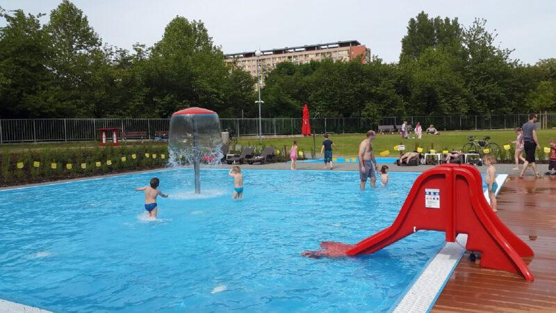 Koupaliště Ládví a jeho dětský bazén