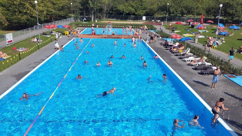 Bazén má unikátní solární vytápění