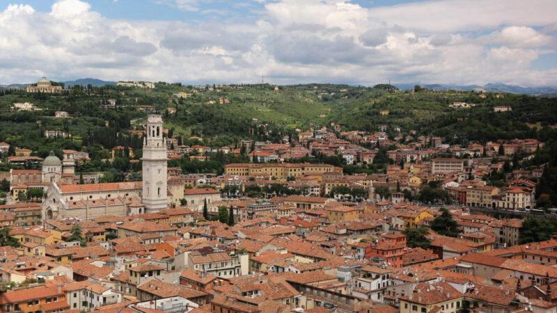 Verona z nadhledu
