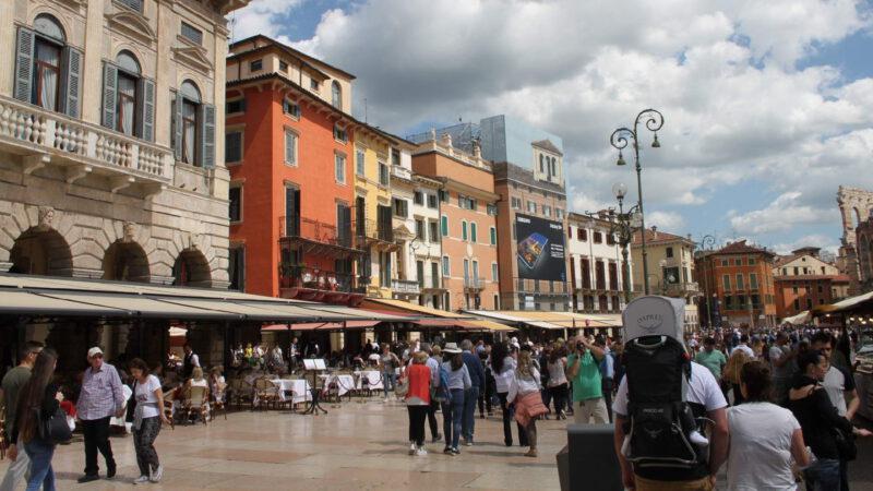 Verona je turistický magnet