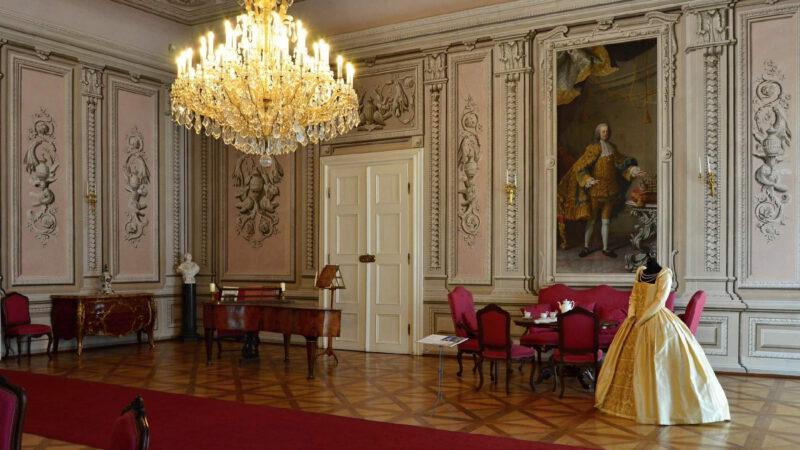 Interiér zámku Litomyšl