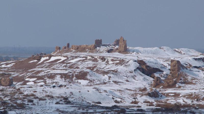 Krajina kolem Aralského jezera je děsivá ale krásná