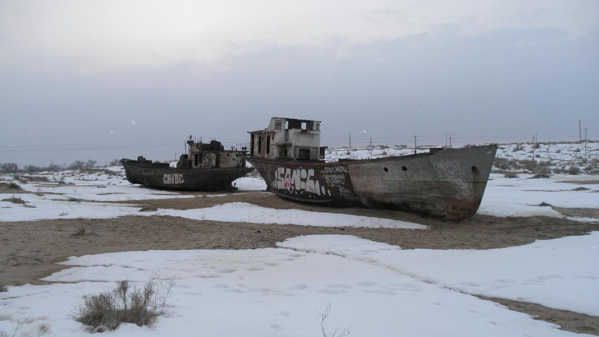 Aralské jezero – Mapa, fakta, příběh vysychání
