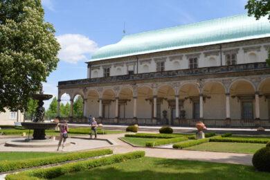 Letohrádek královny Anny Praha (Belvedér) – Otvírací doba, výstava, průvodce