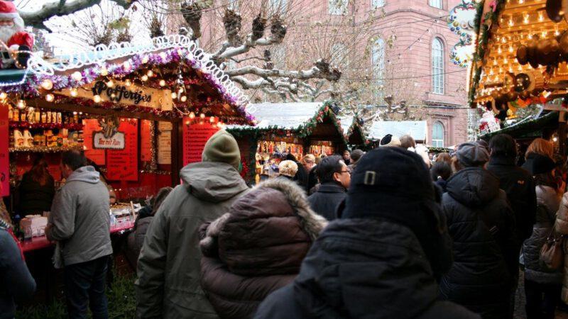 Pohodová atmosféra a vánoční trhy Německo