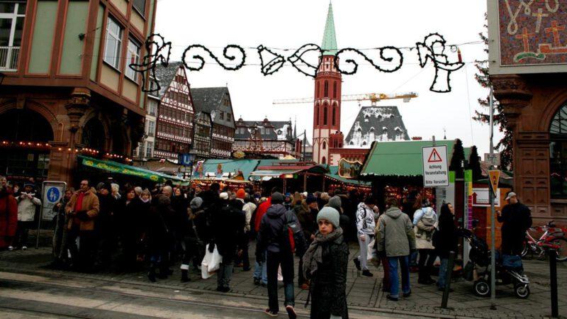 Vánoční trhy Německo jsou velmi oblíbené