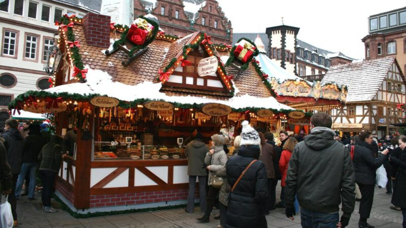 Trhy se v Německu konají na každém rohu