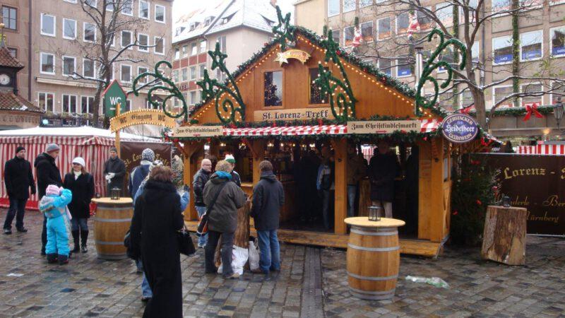 Vánoční trhy Norimberk jsou známé po celém světě