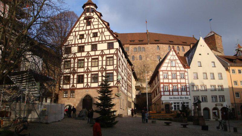 Historická část Norimberku je opravdu hodně zajímavá