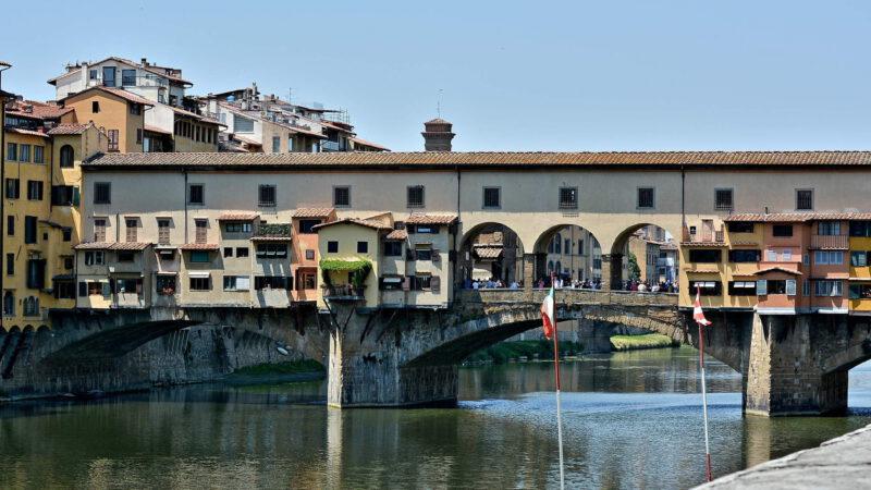 Most Ponte Vecchio je symbolem města