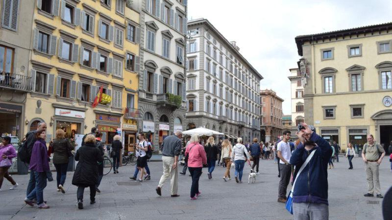 Florencie je malé, ale velmi živé město