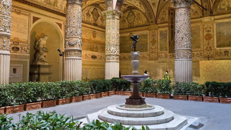 Klidné a romantické zákoutí ve Florencii