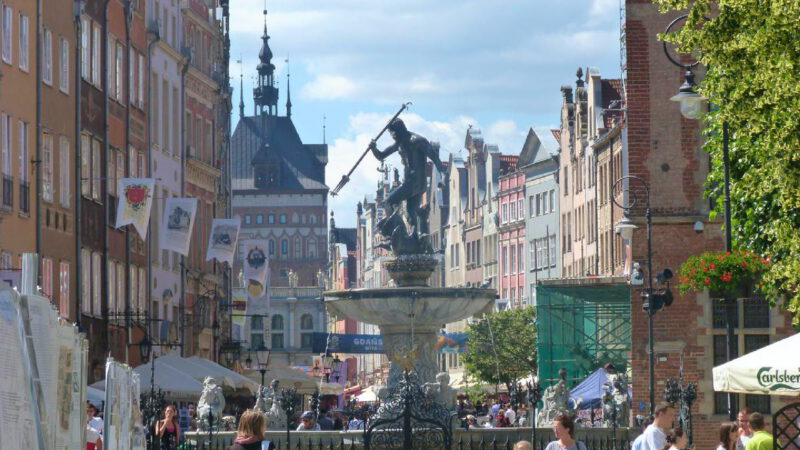 Gdansk is an ideal place for a Euro weekend