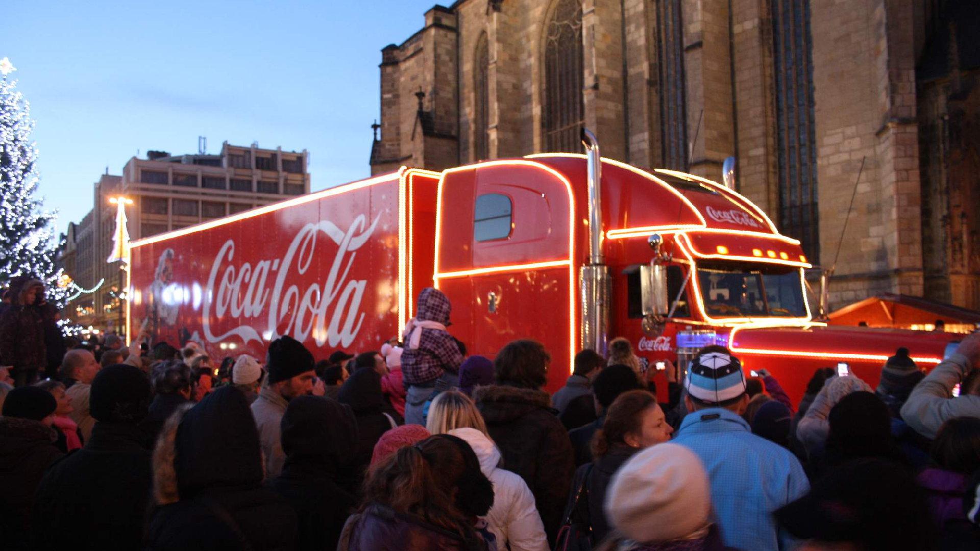 Vánoční kamion Coca Cola 2019 – Trasa, program, tipy