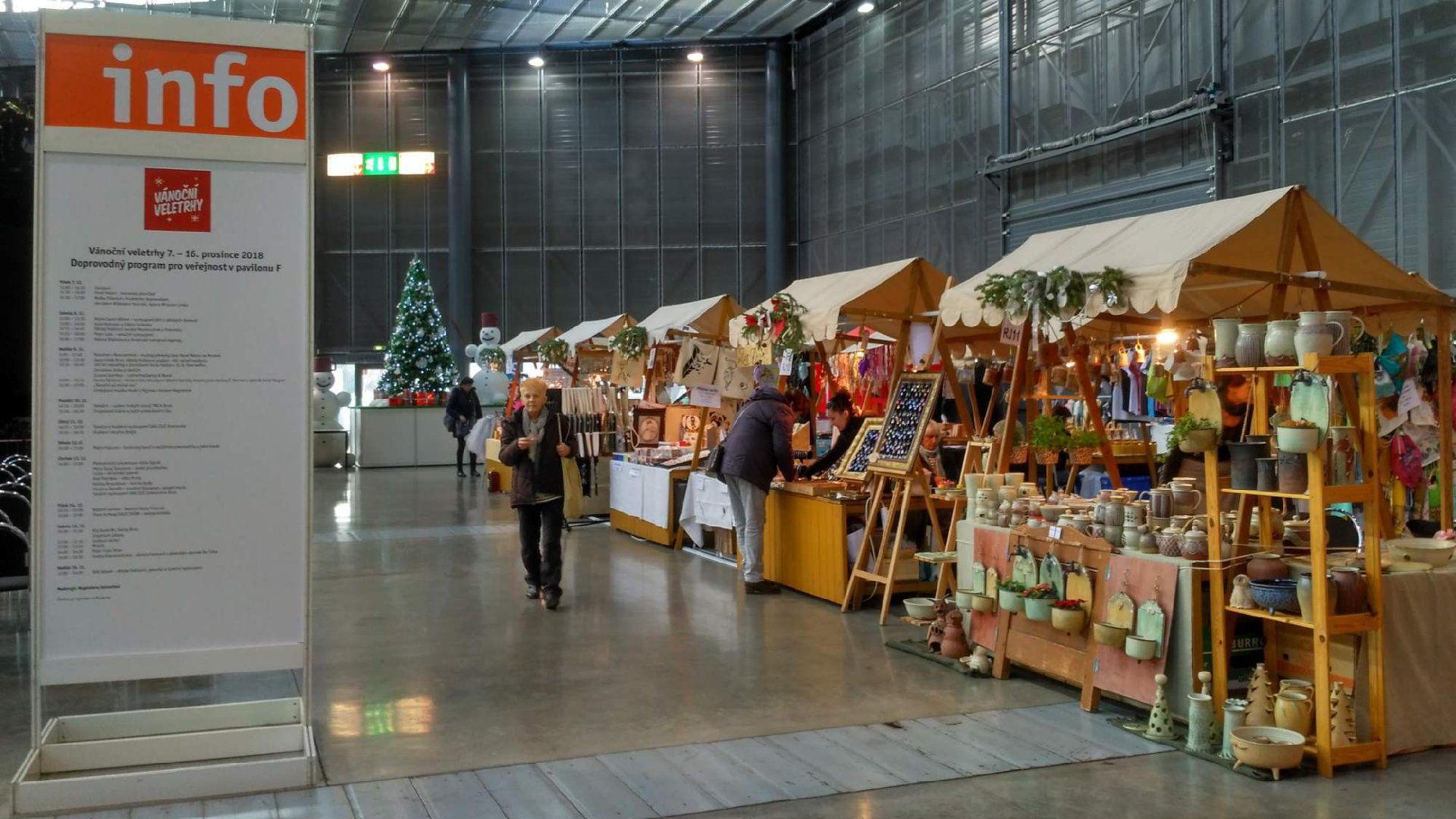 Vánoční veletrhy Brno 2019 na výstavišti – Program a průvodce