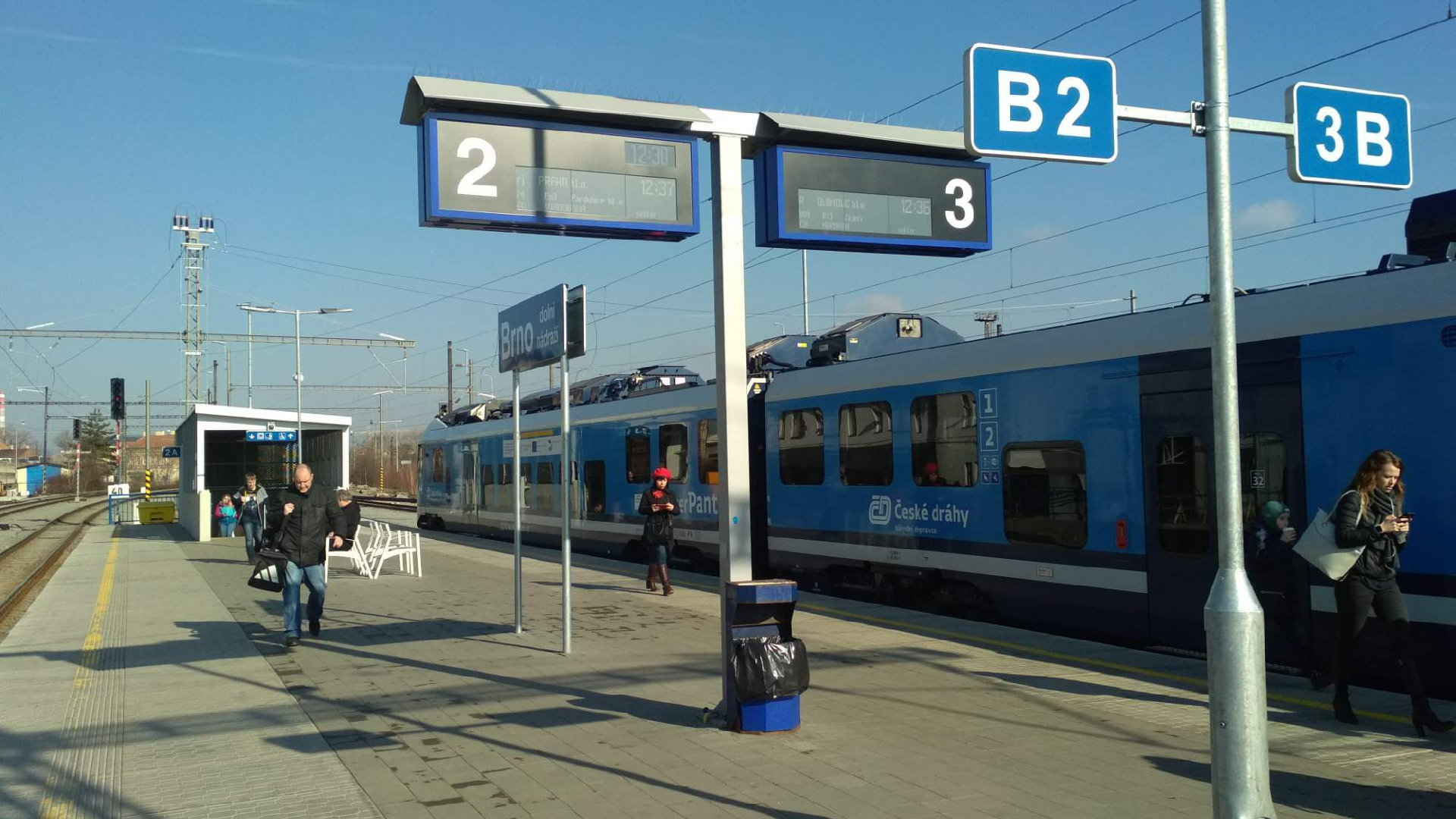 Brno dolní nádraží – Mapy, výluka a aktuální informace