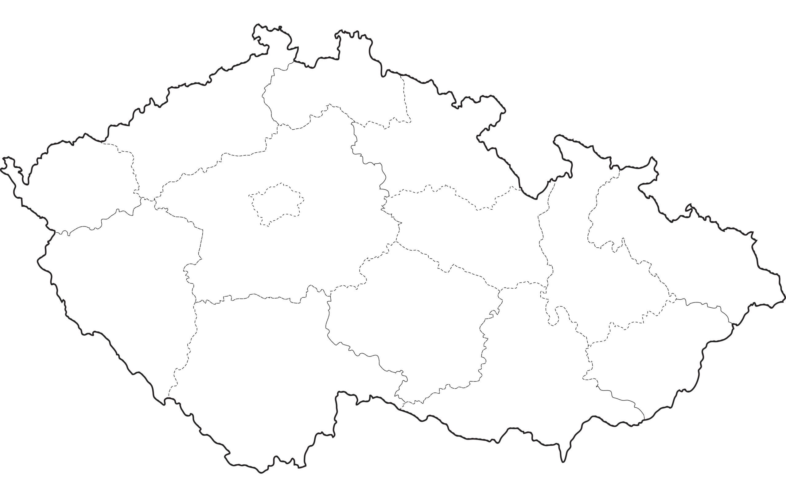 Slepa Mapa Cr Vzory Ke Stazeni Zdarma