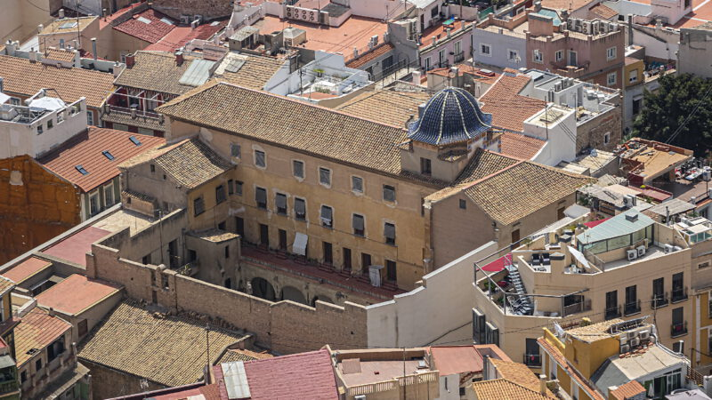 Another view of the historic center of Alicante