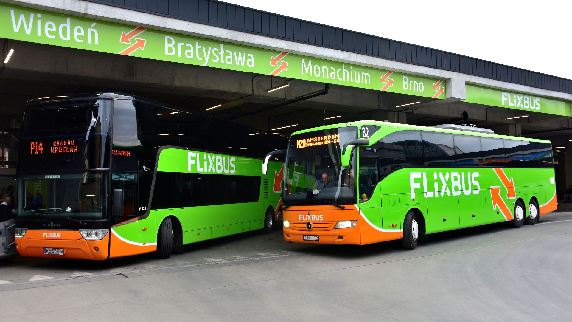 Flixbus Brno
